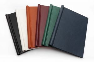 Leather Springback Binders