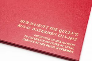Royal Watermen Binder